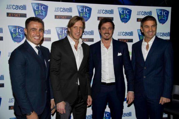 C.I.C. Conferenza Stampa 31 gennaio 2013 - Fabio Cannavaro, Massimo Ambrosini, Massimo Oddo, Billy Costacurta