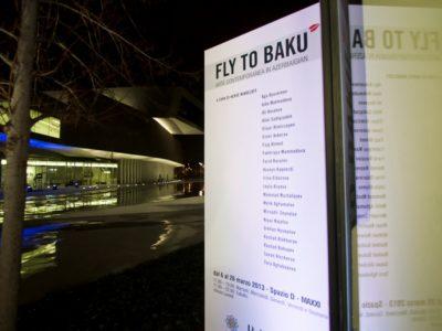 05 marzo 2013 - Inaugurazione Fly to Baku, Elenco degli artisti
