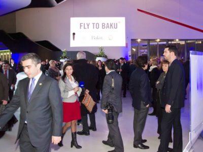 05 marzo 2013 - Inaugurazione Fly to Baku, Roma