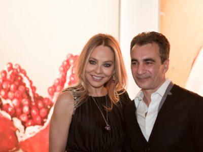 05 marzo 2013 - Ospiti all'inaugurazione della mostra Fly to Baku, Roma