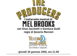 Anteprima musical The producers 2006