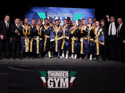 Dolce & Gabbana Italia Thunder Boxing Team