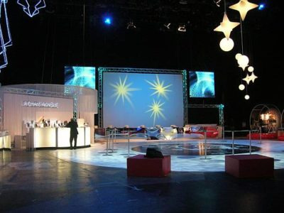 Mediaset 2008 - Natale Aziendale - Lo Studio
