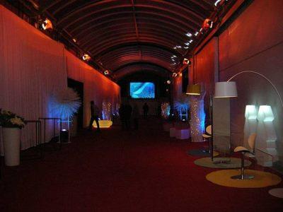 Mediaset 2008 - Natale aziendale - La Location