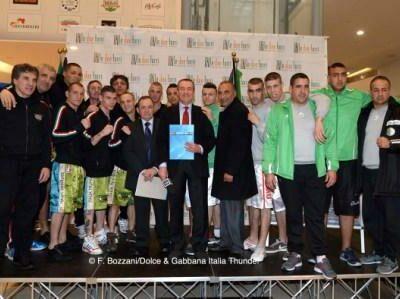 WSB Season IV - Official Weigh In_ Dolce Gabbana Italia Thunder vs Algeria Desert Hawks
